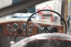 Our original removable Riley Kestrel steering wheel.